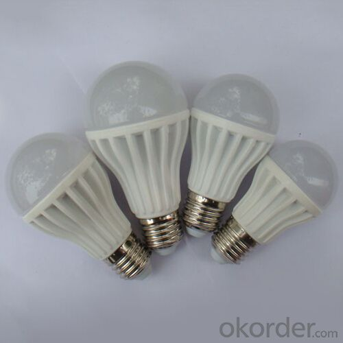 SMD Light Bulbs LED Series From 5W To 12W With PC Milky Shell E26 E27 B22