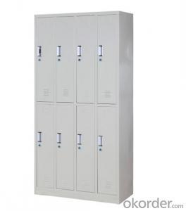 Steel Cabinet Office Furniture School Locker  Double Door