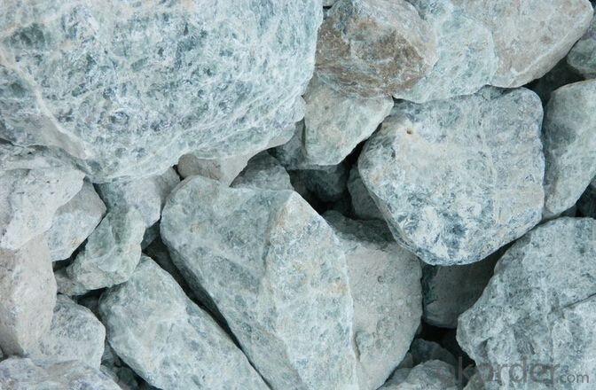 Fluoride Mine CaF2 75% / Fluorite Ore For Smelting Aluminium Industry 10-80MM