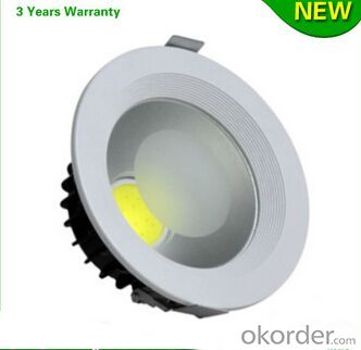 COB 12W Dimmable Led Downlight High Quality
