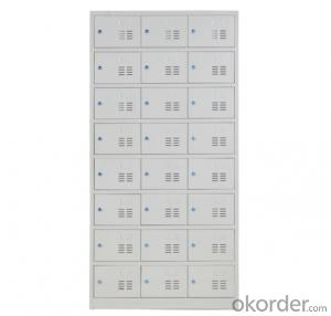 School Steel Multi-doors Locker Gym Chaning Room Locker 15 Doors Locker