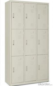 Locker Steel Cabinet Office Furniture Double Door with Drawer