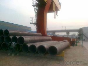 LSAW Steel Pipe-API Certificate, Double Submerged Arc Welded Steel Pipe for Construction/Structure