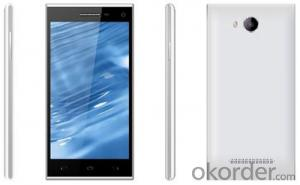 5.0 inch Mtk6582 Low End 3G Quad Core Smartphone
