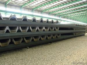 Steel Sheet Pile  with Good Quality   and Best Price      2015