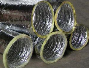 Aluminum Insulation Flexible Duct For Ventilation Use