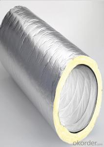 Aluminum Insulation Flexible Duct For Heat Ventilation Use