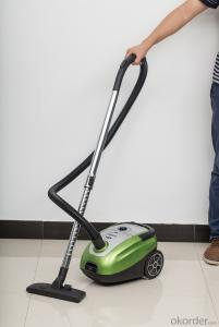 Vacuum cleaner with optional dust tank or dust bag filtration#JC611