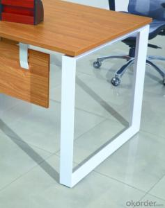 Wooden MDF Melamine/Glass Modular Office Table/ Excutive Desk AM688