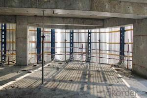 Protection-Platform for Formwork and scaffolding systems