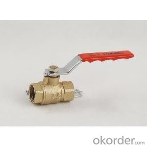 Male Thread Brass Ball Valve in low price