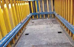 Shaft-platform S40 System for Formwork and Scaffolding