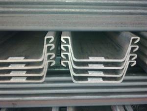 Export Hot Rolled Steel Sheet Pile