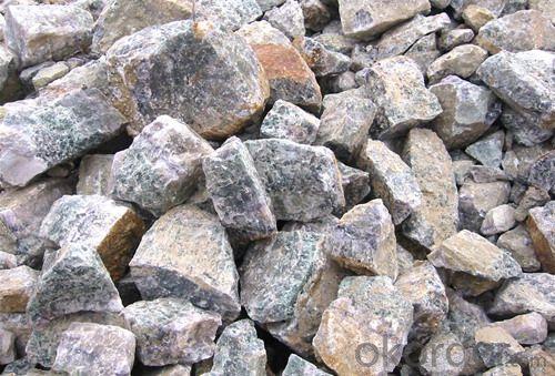 Caf2 98% Sio2 0.1% acid grade fluorite powder