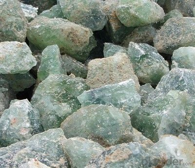 Fluorspar powder, fluorite content more than 97%