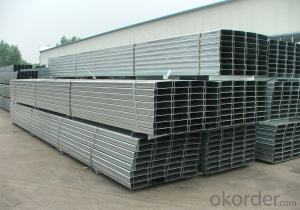 C Section Shaped Steel with Good Quality