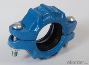 Ductile Iron Grooved Fittings of Flexible Coupling Tee