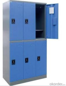 Metal Six Door Locker DX09 from Fortune Global 500 company