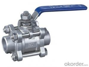 DIN Flanged Ball Valve Stainless Steel & Carbon Steel