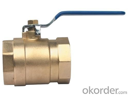 class 400 brass  ball valve for Stainless tank