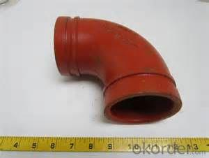 Ductile iron Grooved Fitting of Flexible Couplings Plugs Tees