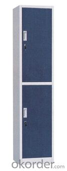 Metal Two Door Locker DX02 from Fortune Global 500 company
