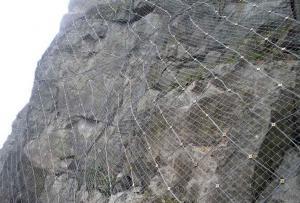 Galvanized Hillsides Stone Falling Protect Fence