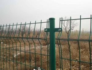 Bilateral fencing wire mesh / Double wire fence mesh / Bilateral fence mesh