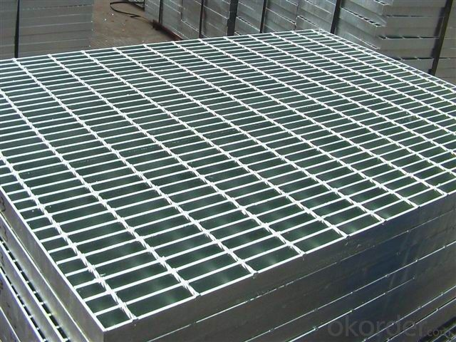 Galvanized steel grating, floor grating, bar grating