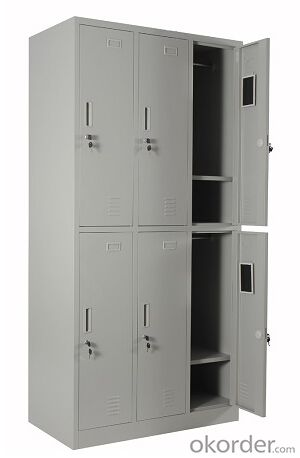 Metal Six Door Locker DX07 from Fortune Global 500 company