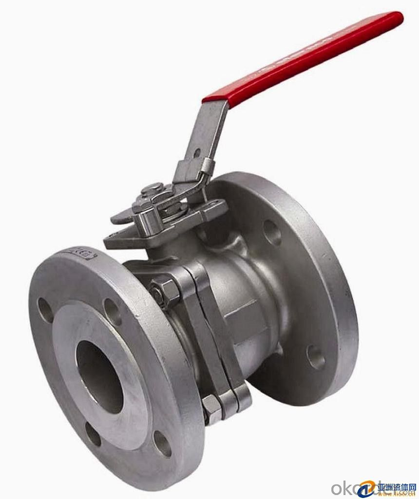 DIN Flanged Ball Valve Stainless Steel & Carbon Steel  in good price