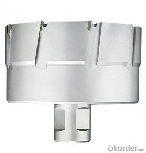 TCT annular cutter with Weldon shank(Version P) DNTP-4