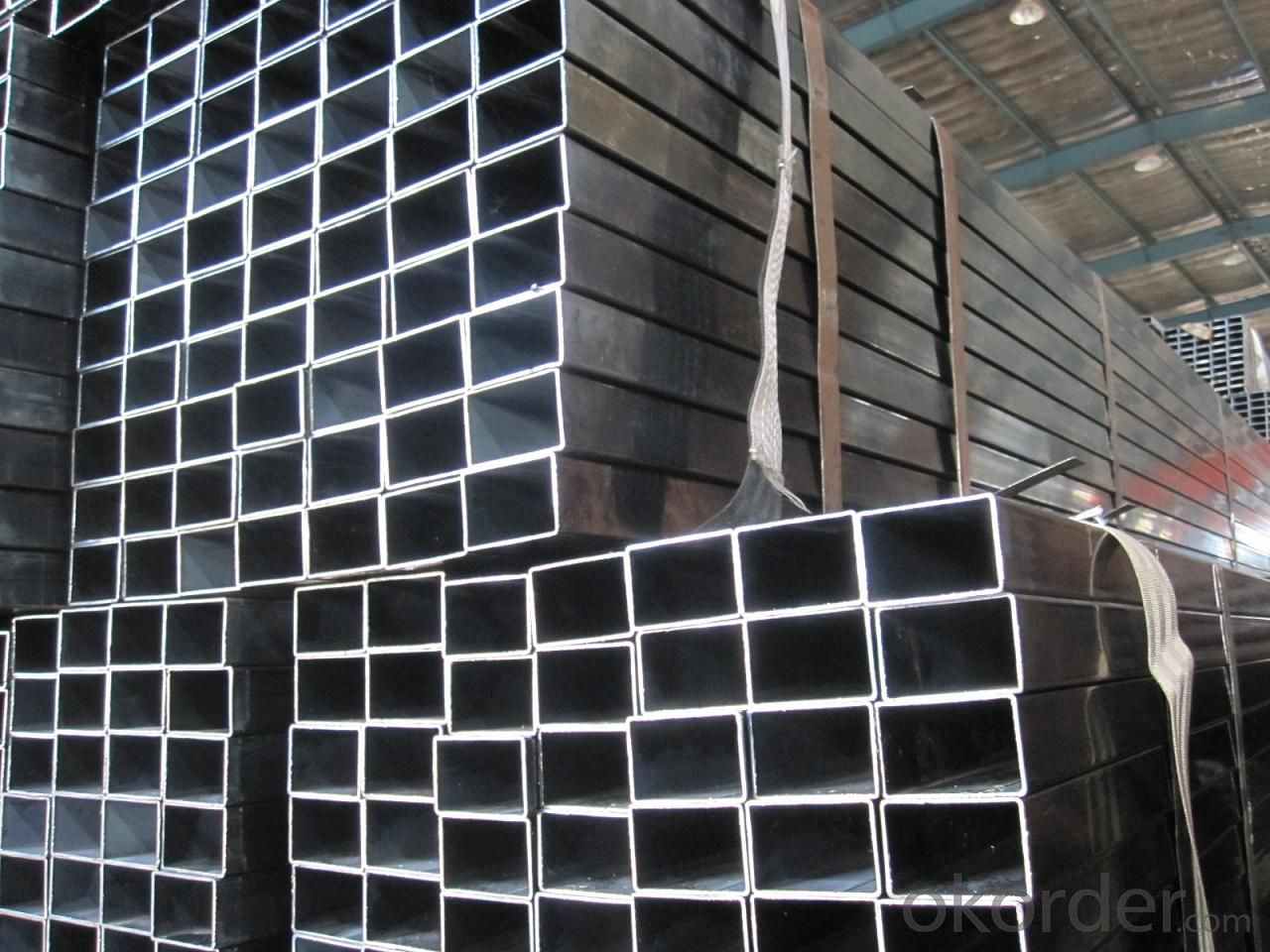 Hollow sections mild steel rectangular pipes