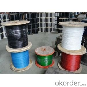 color wire rope with more conpetitive price