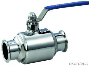 class 400 brass  ball valve for Stainless tank, blue, red.