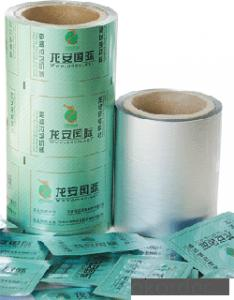 POPULAR   PTP FOIL FOR IN LINE PRINTING OF HIGH QUALITY