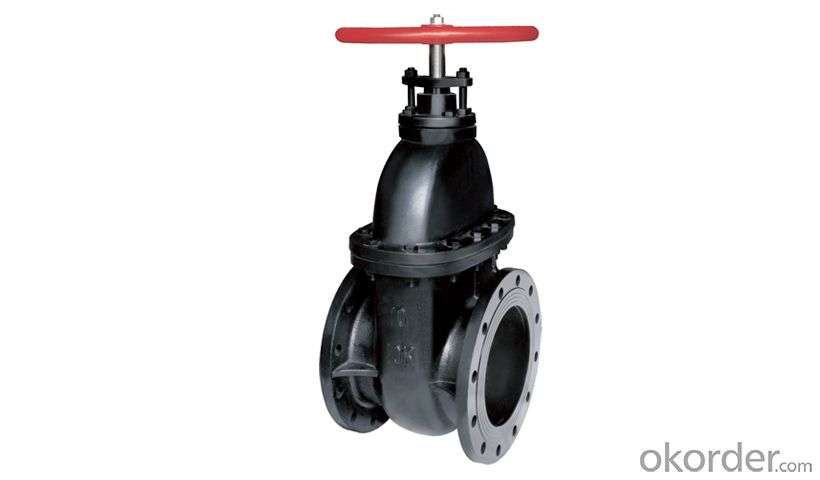 Manufacturer Stainless Steel mini Ball Valve in red color