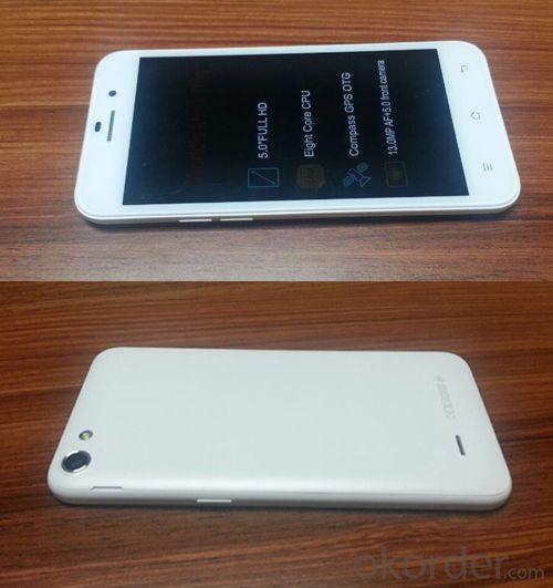 Smartphone 5.0 Inch MTK6592 Octa Core Smartphone with 8MP AF+2MP Camera