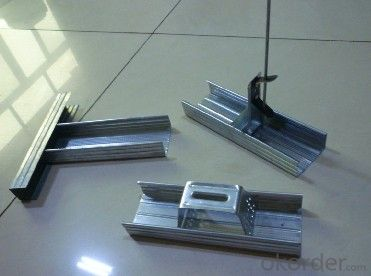Chinese Building Material Zinc Galvanized Steel Profile