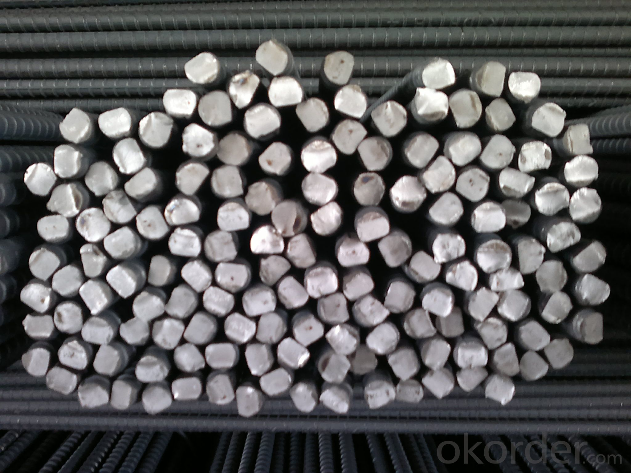 GB Standard HRB400, 500 Hot Rolled Deformed Steel Rebars