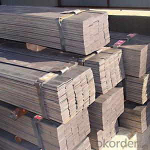 Steel Flat Bar Hot Rolled Retangular Section with Light Weight
