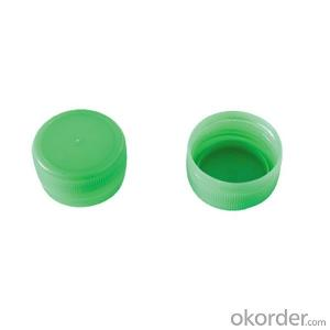 Security Plastic Round Cap for Water Drinking Bottle 28/410