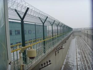 358 High security Prison Welded Wire Mesh Fencing System for Sale
