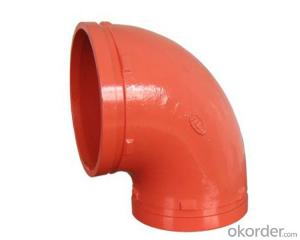 Ductile iron Grooved Fitting of Flexible Couplings Plugs