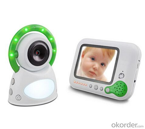 digital baby monitor 2.4GHz 200m talking range