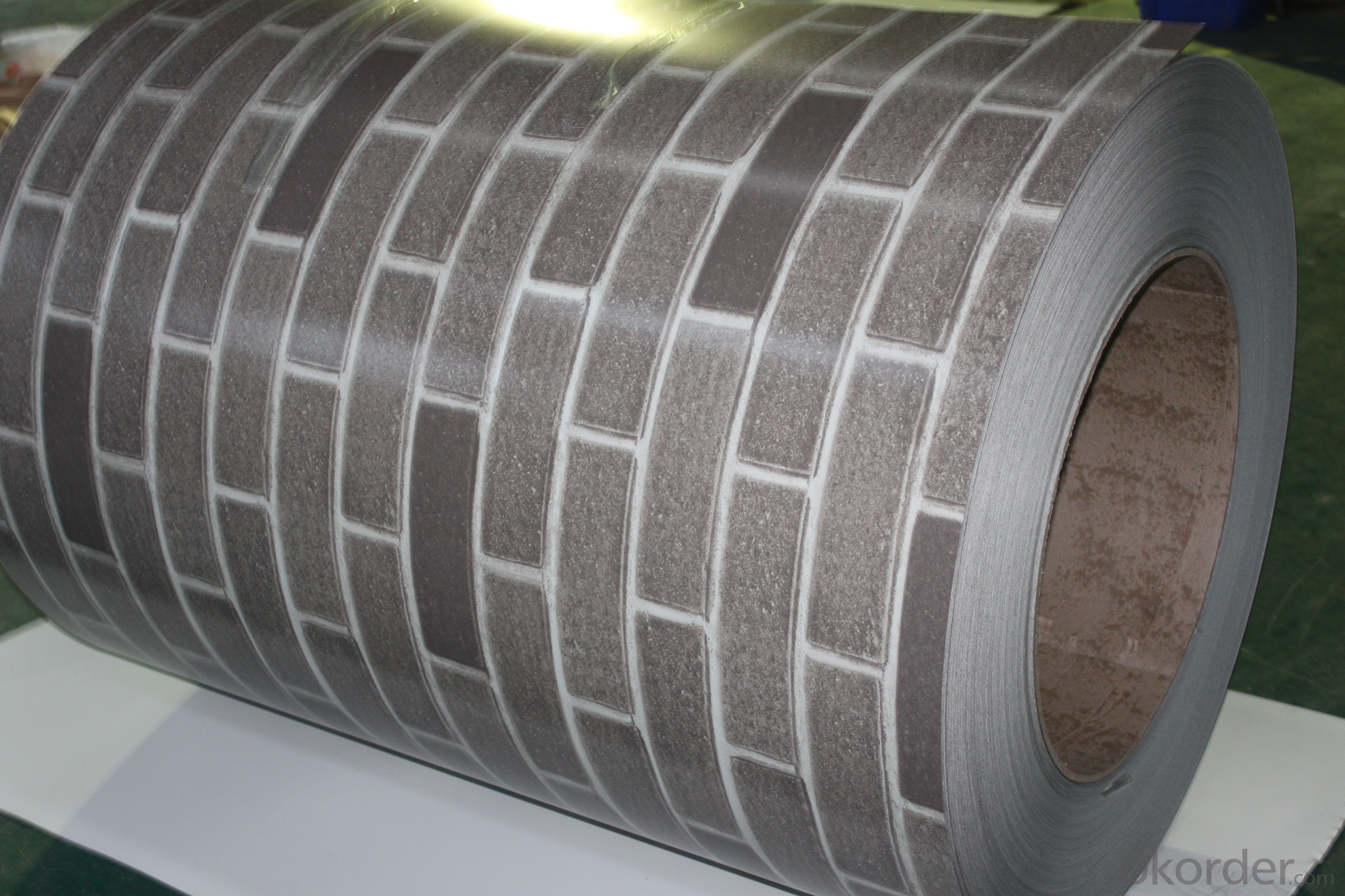 Stone Pattern Printing Steel Plate-1.00mm*1250mm Z60g