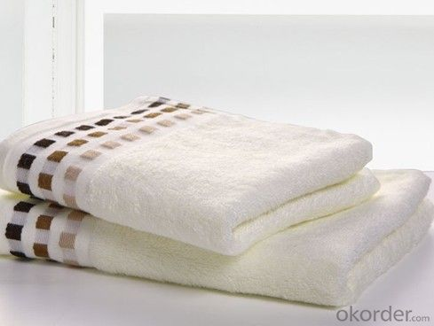 Microfiber cleaning towel for low pricing with design edge