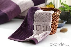 Microfiber cleaning towel for any age with trendy design