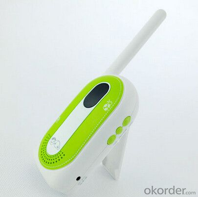 home audio baby phone 40MHz;2 channels; Communication Range:300M;