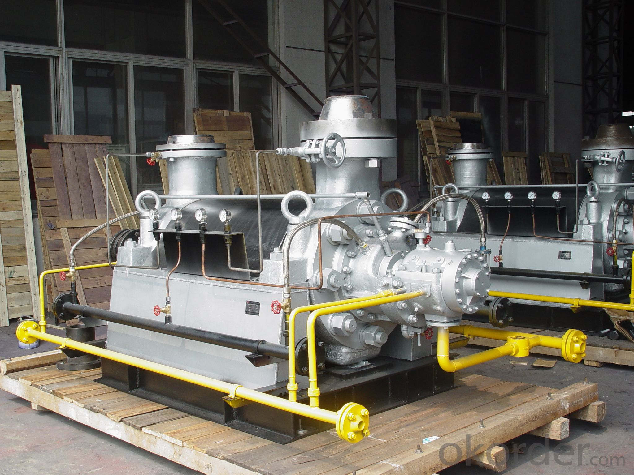 Multistage Centrifugal Water Pump for Boiler Feed